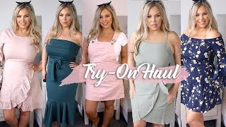 SHOWPO TRY ON HAUL - SUMMER OUTFIT IDEAS!