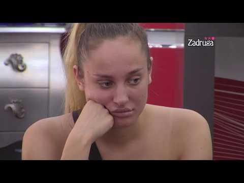 Zadruga 3 - Matora Progovorila O Sanji, Nakon što Je Danima ćutala - 09.04.2020.