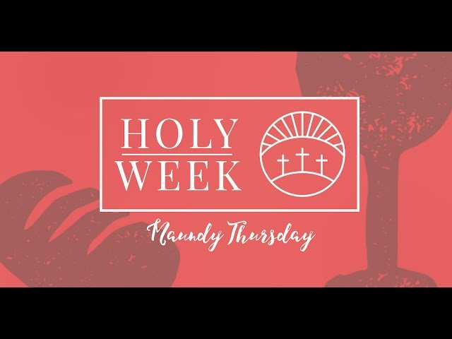 Maundy thursday prayers catholic