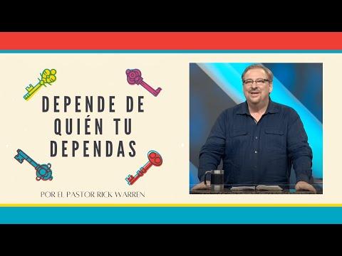 Depende de Quién tu Dependas - Pt.1 / Pastor Rick