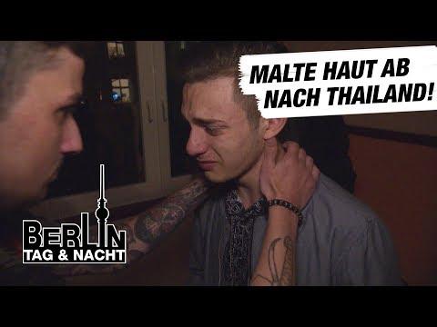 Berlin - Tag & Nacht - Malte haut ab nach Thailand?! #1530 - RTL II