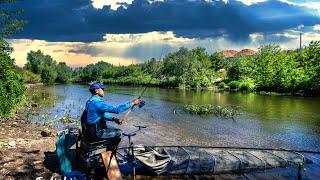РЫБАЛКА на малой реке ПИКЕРОМ Какой бланк ВЫБРАТЬ Лучшие крючки 2021 Feeder Fishing TV 66