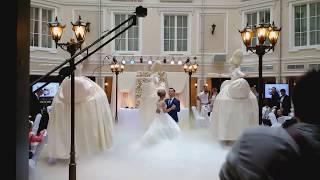 Свадебный Танец молодых в сопровождении Teatro Bambola