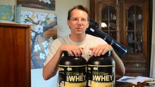 ON Gold Standard Natural Whey Review