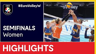 The Netherlands vs. Italy Highlights - #EuroVolleyW