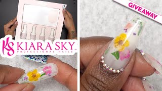EASIEST NAILS EVER using the Kiara Sky Gelly Tips Starter Nail Kit