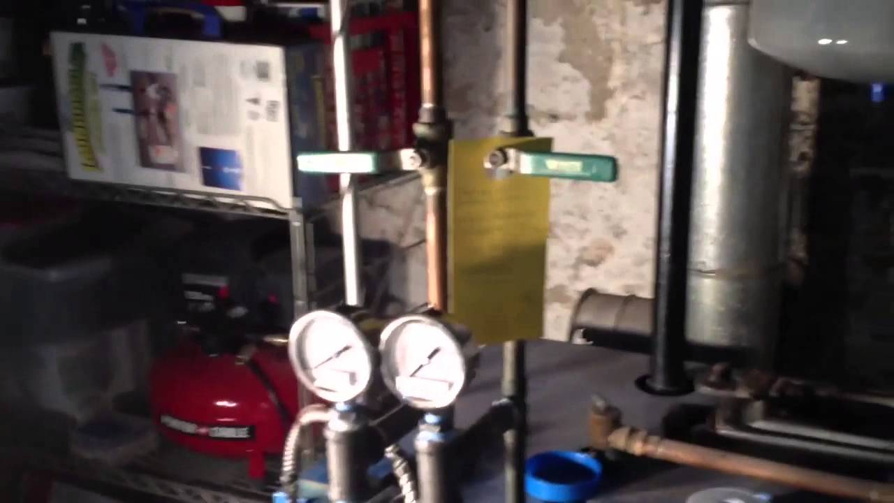 How To Clean A Tankless Domestic Hot Water Coil - YouTube