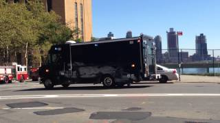 3 UNITED STATES SECRET SERVICE UNITS WHILE ON UNITED NATIONS DUTY ON THE EAST SIDE OF MANHATTAN, NY.