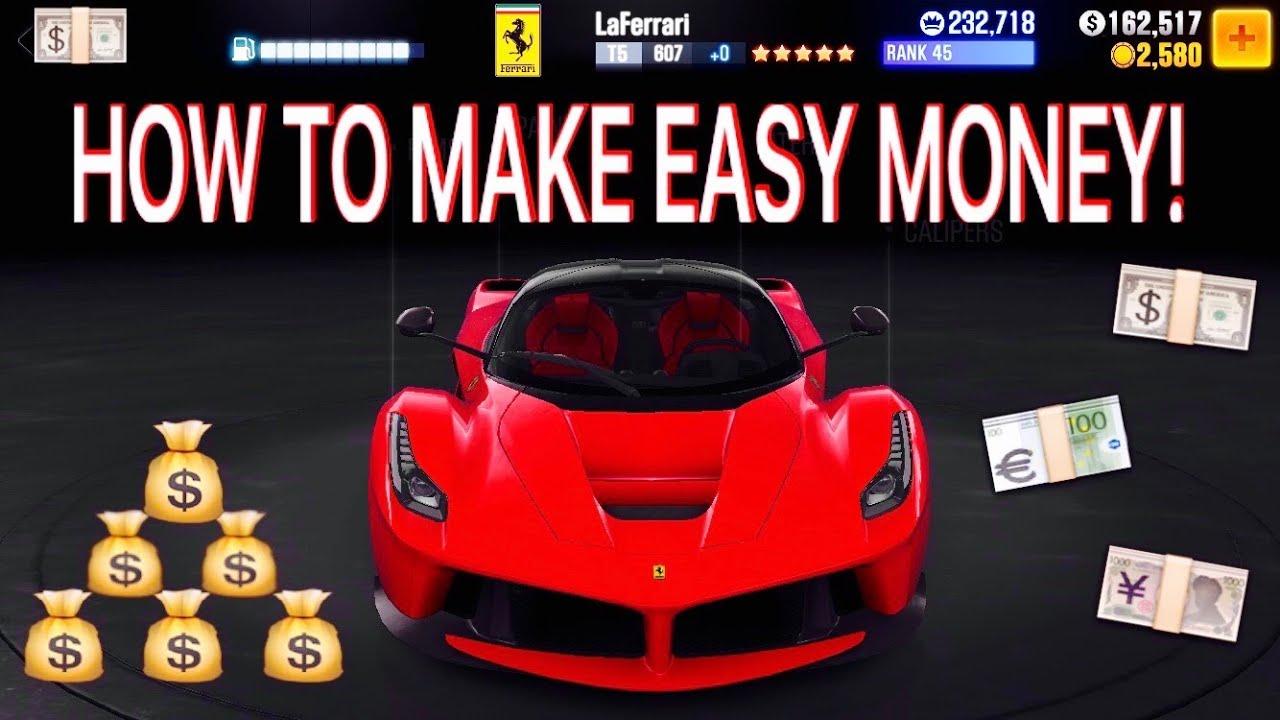 CSR Racing 2 How to make easy money? Tune T5 McLaren 570s 1/2 Mile
