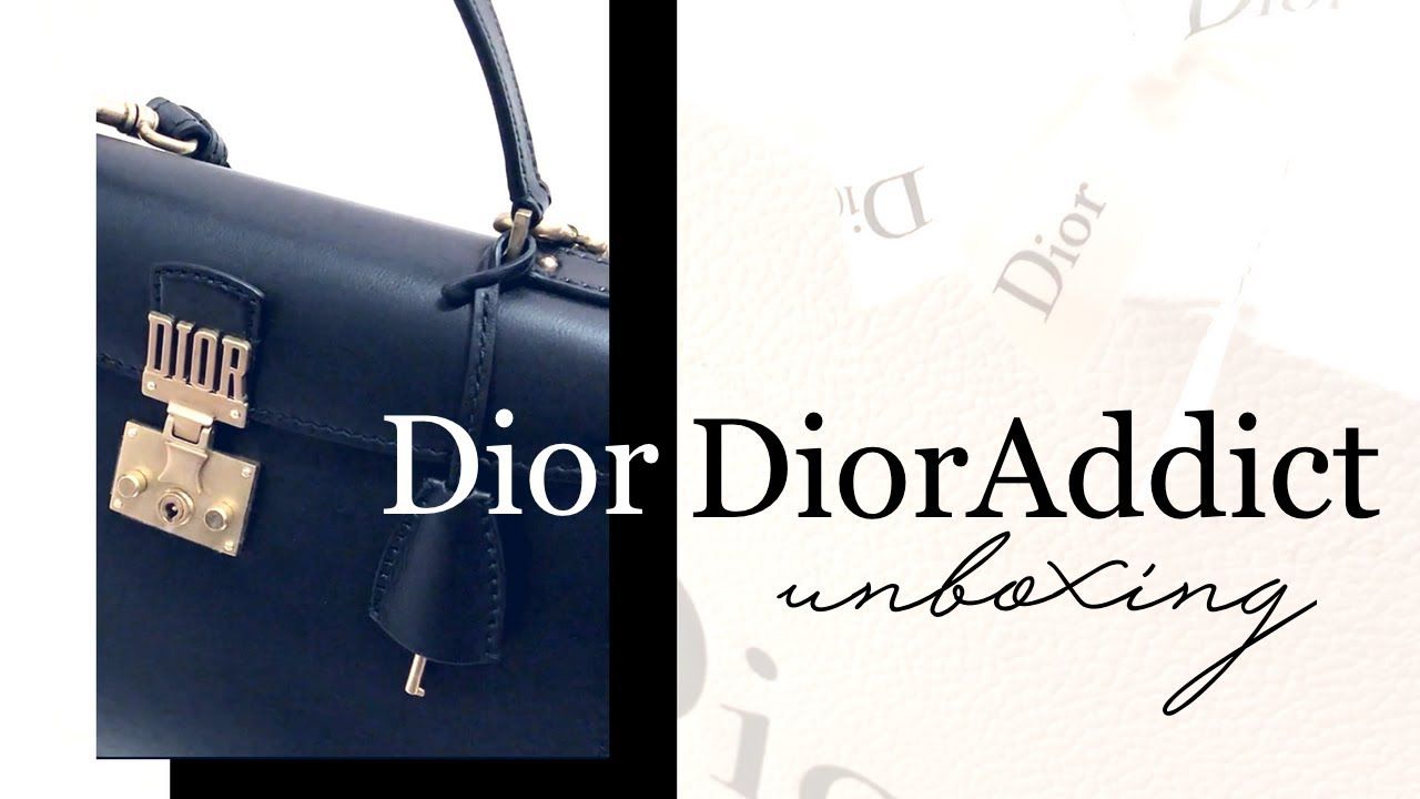 Dior DiorAddict Tote Bag UNBOXING - YouTube 524d13e80e360