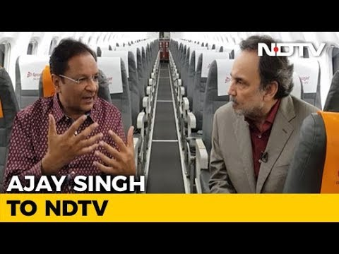 Prannoy Roy Speaks To SpiceJet Chief Ajay Singh On India's First Biofuel Flight