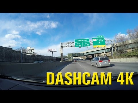 New York - Driving from Brooklyn to Queens