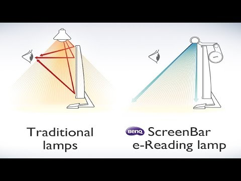 Unboxing / Review: BenQ ScreenBar e-Reading lamp / Youtube Creators light?