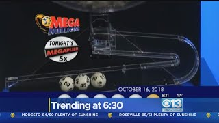 Mega Millions Jackpot Jumps To $970M As Drawing Approaches