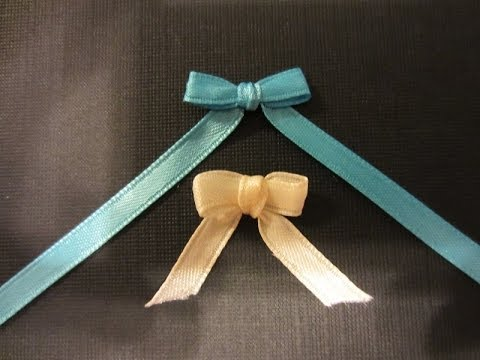 how to make a bow with ribbon and a fork quick and easy youtube