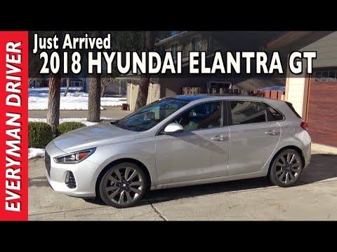 Just Arrived: 2018 Hyundai Elantra GT on Everyman Driver