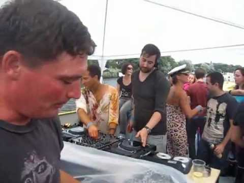 Tom Clark & Todd Bodine @ Highgrade Boat Berlin Beats & Boats 2012