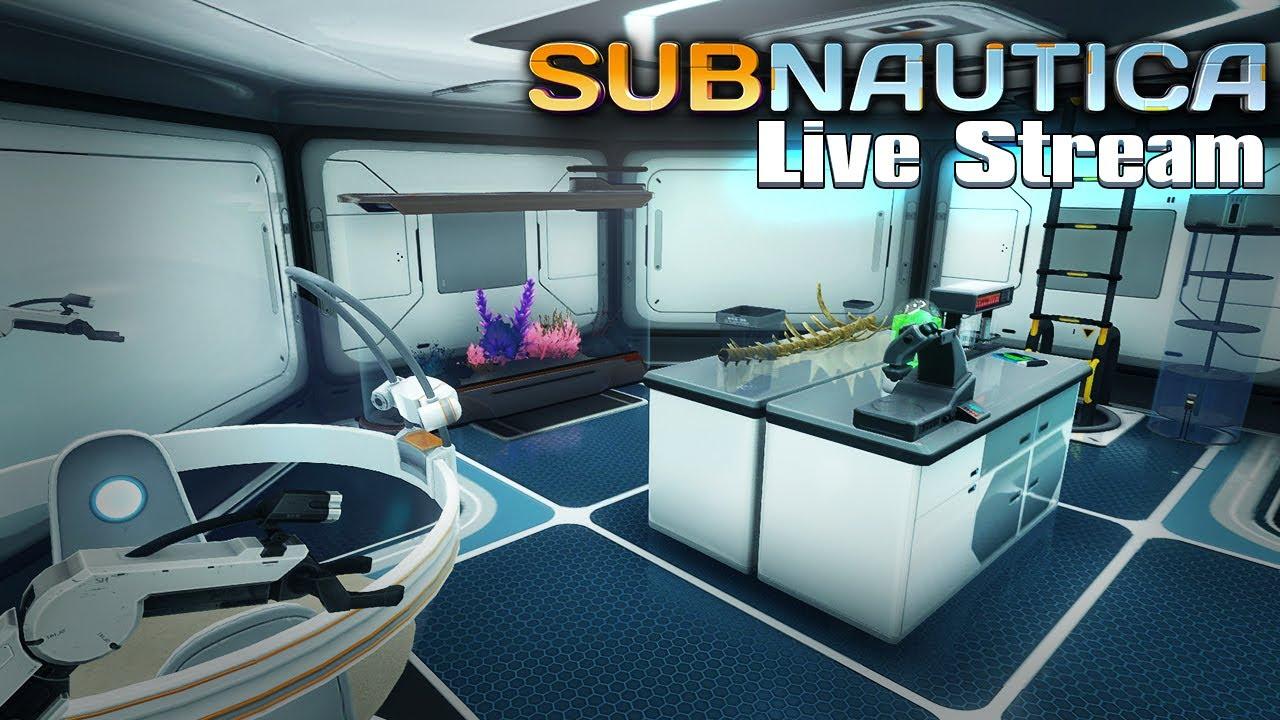 MI NUEVO TÍTULO: MR SPICY, DECORADOR INTERIOR - Subnautica Live S02E11 + vídeo