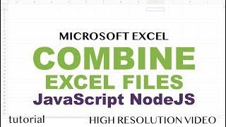 Excel api javascript