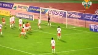 강원FC 2011시즌 골 하이라이트 모음