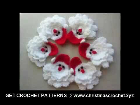 Crochet Christmas Decorations Gifts Crochet Patterns Download Youtube