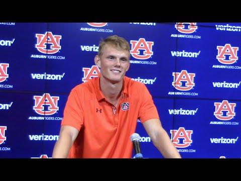 Auburn kicker Daniel Carlson: Aug. 10, 2016