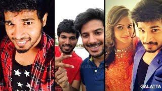 Kalakka Povathu Yaaru Rakshan Joins Dulquer Salmaan In Kannum Kannum Kollaiyadithaal | Ritu Varma