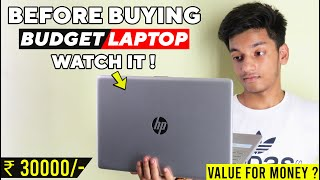Review of HP 15 Core i3 7th Gen Laptop Before Buying Budget Laptop Watch It 30 k price Worth It