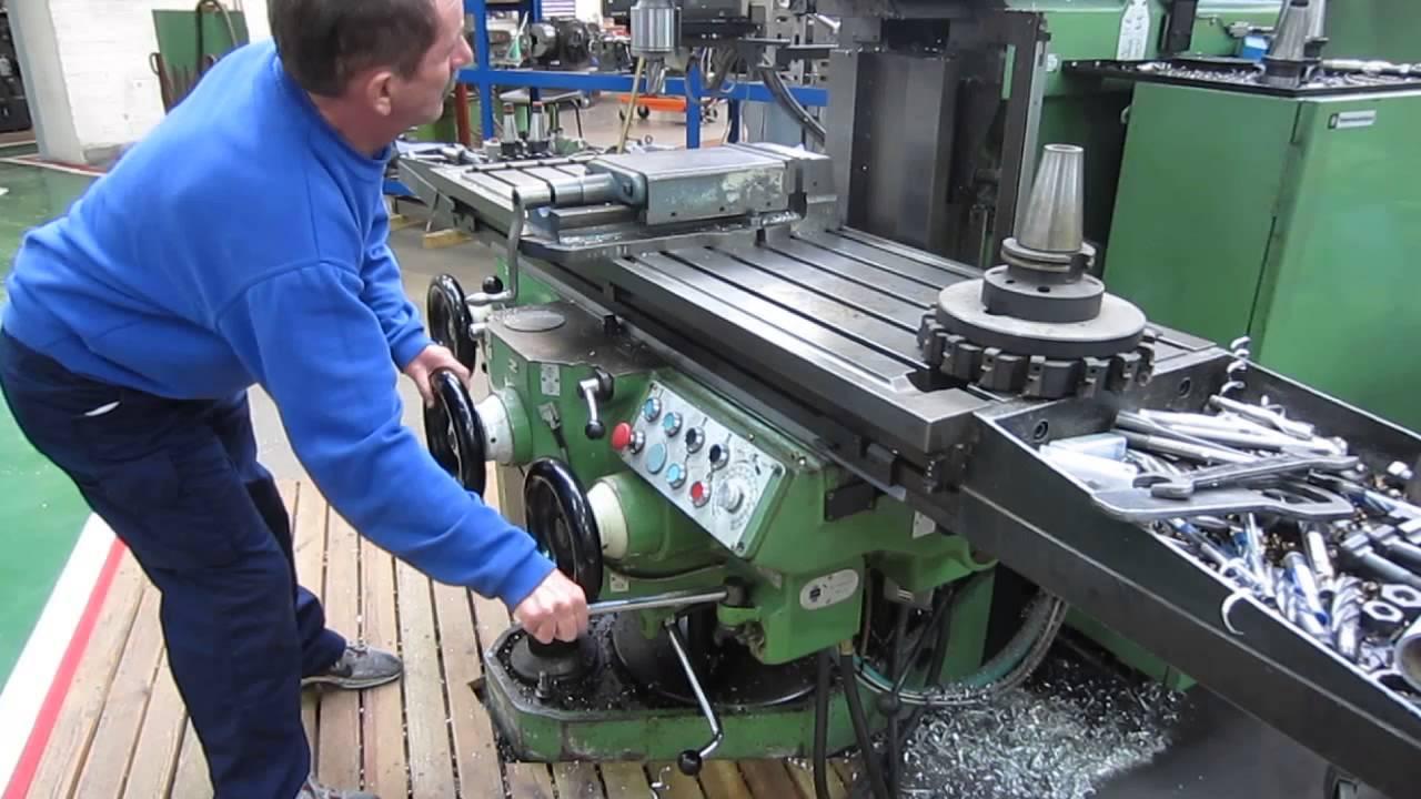 Huron Nu 5 Ram Type Mill Youtube