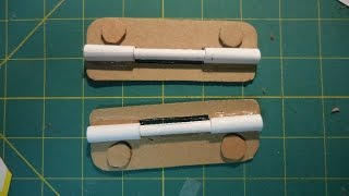 Tips and Tricks 8: How to make paper hinges