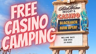 Free Casino Camping Blueẁater Parker AZ