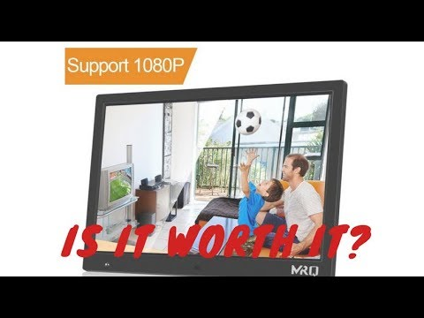 MRQ 14.1 Inch HD Digital Photo Frame Review. Is It Worth It? - YouTube
