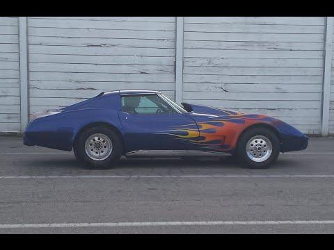1969 corvette c3 10 second 1/4 mile pass