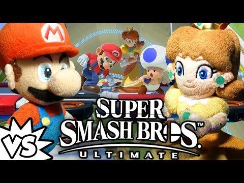 ABM: Mario Vs Daisy !! SUPER SMASH BROS ULTIMATE !! ᴴᴰ