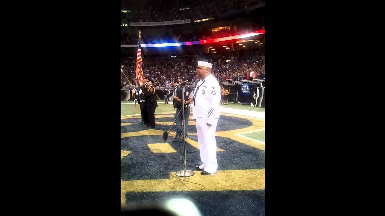 Download Generald Wilson - STL Rams Game - 9/11/11 National Anthem