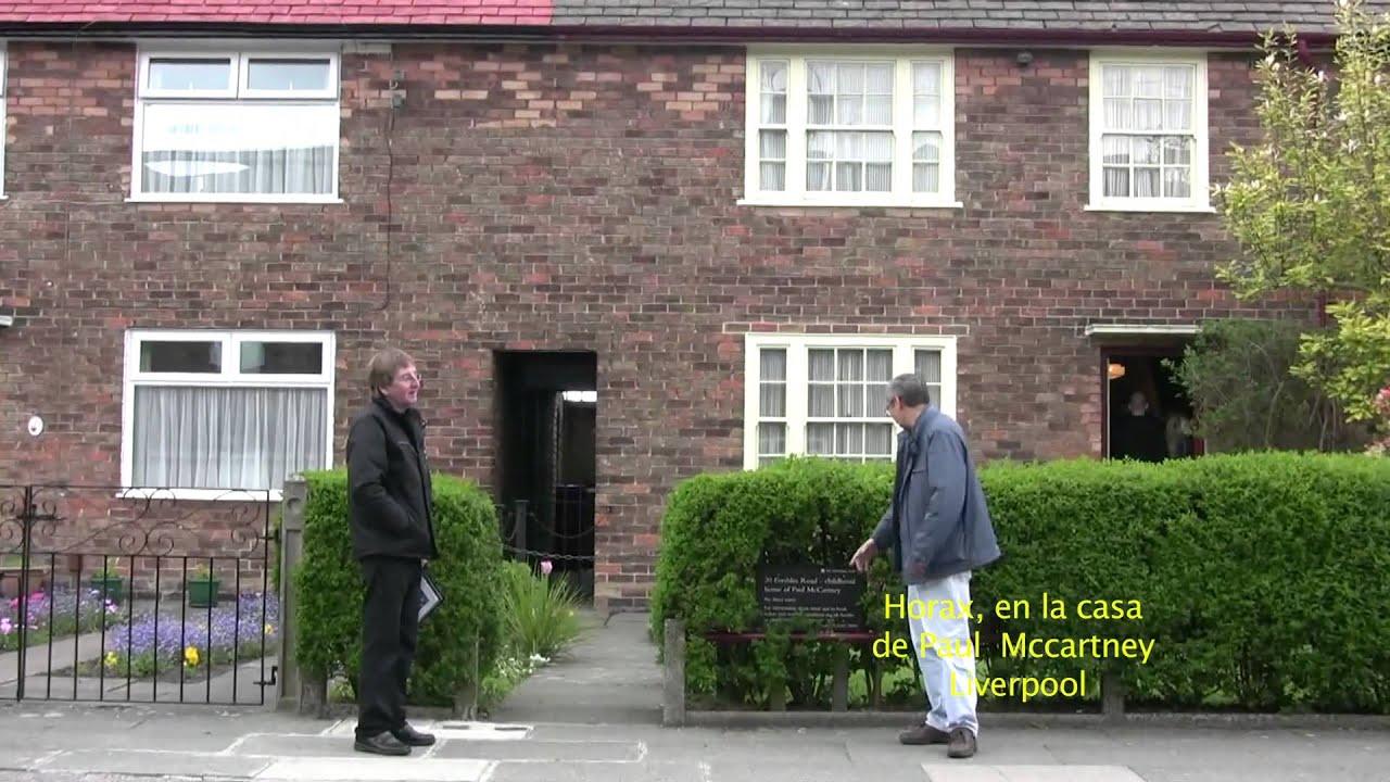 horax en la casa de paul mccartney liverpool 1 youtube. Black Bedroom Furniture Sets. Home Design Ideas
