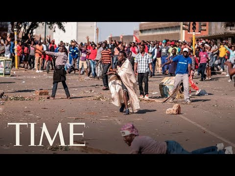Here's How Zimbabwe's Post-Election Unrest Turned Deadly | TIME