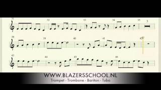 Basement Jaxx - We Are Not Alone Trumpet  or T. Sax (Easy Key) (Real Trumpet Sound)