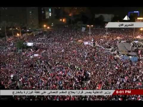 Egyptian State TV during the military coup - Part I.