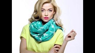 Учимся быстро и красиво завязать шарф/палантин(Небанальные способы завязать красиво палантин! А стильная и комфортная одежда из меха, кожи и ткани, создан..., 2014-11-27T01:41:29.000Z)