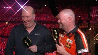Van Barneveld: 'Dit is het allerbeste wat er is' - RTL 7 DARTS: PREMIER LEAGUE