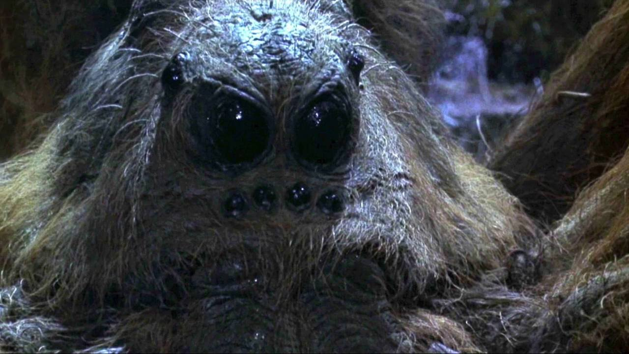 Top 5 Giant Movie Spiders | TheCrypticCinema - YouTube