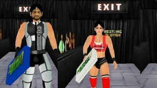 How to add both men's and women's money in the bank briefcase in wrestling revolution- wr3d