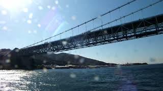 淡路ジェノバライン (岩屋港 - 明石港 )航路ノーカット完全収録   まりん・あわじ   2015年6月19日進水、2015年8月2日就航