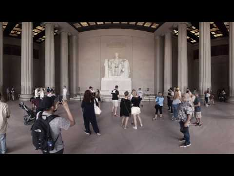 Lincoln Memorial | Washington, DC 360 Video