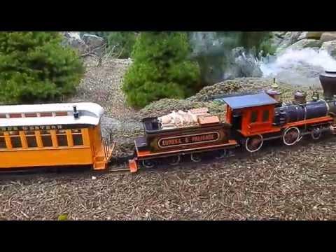 G Scale Eureka & Palisade # 4 American 4-4-0 Durango & Silverton Denver & Rio Grande Western