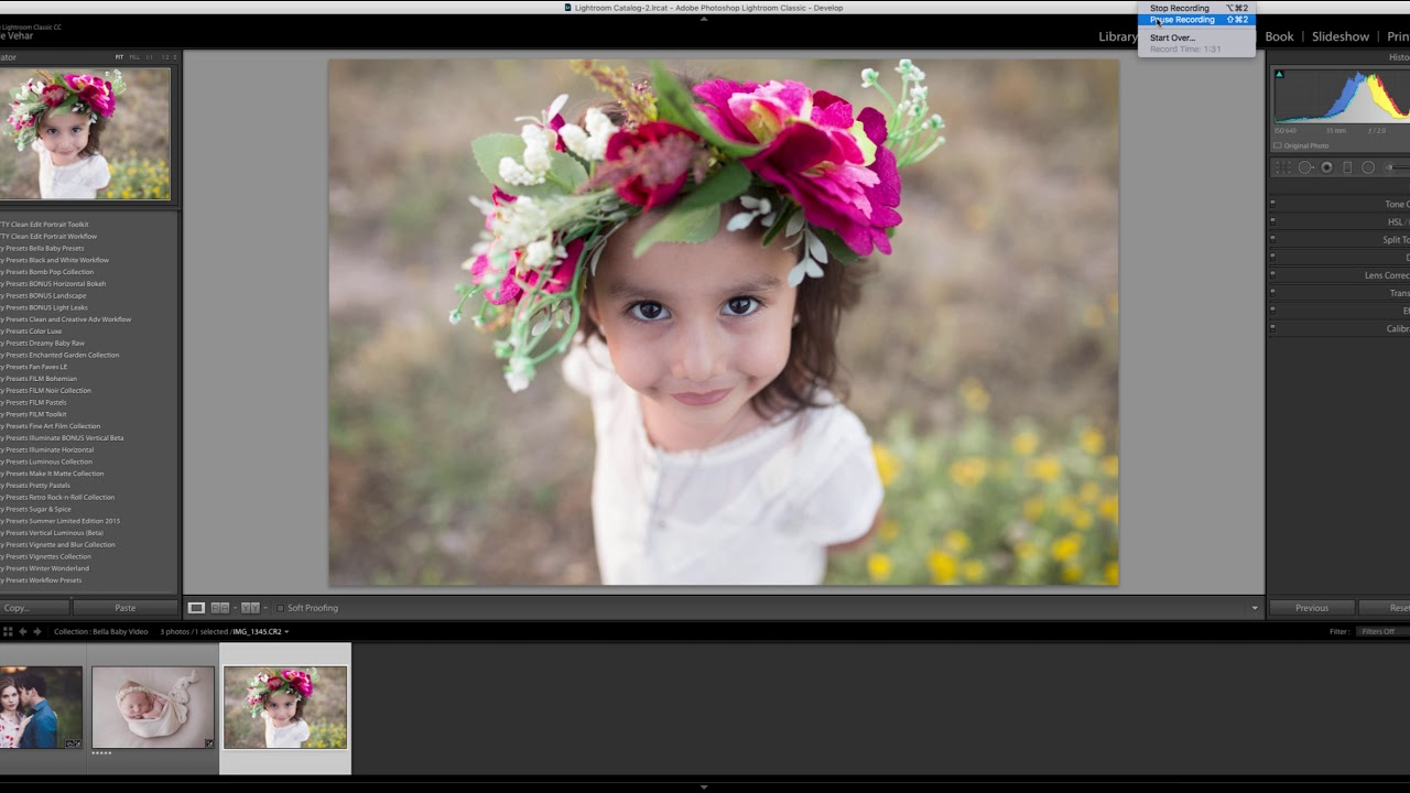 Install Presets in Lightroom Classic CC_lrtemplate files