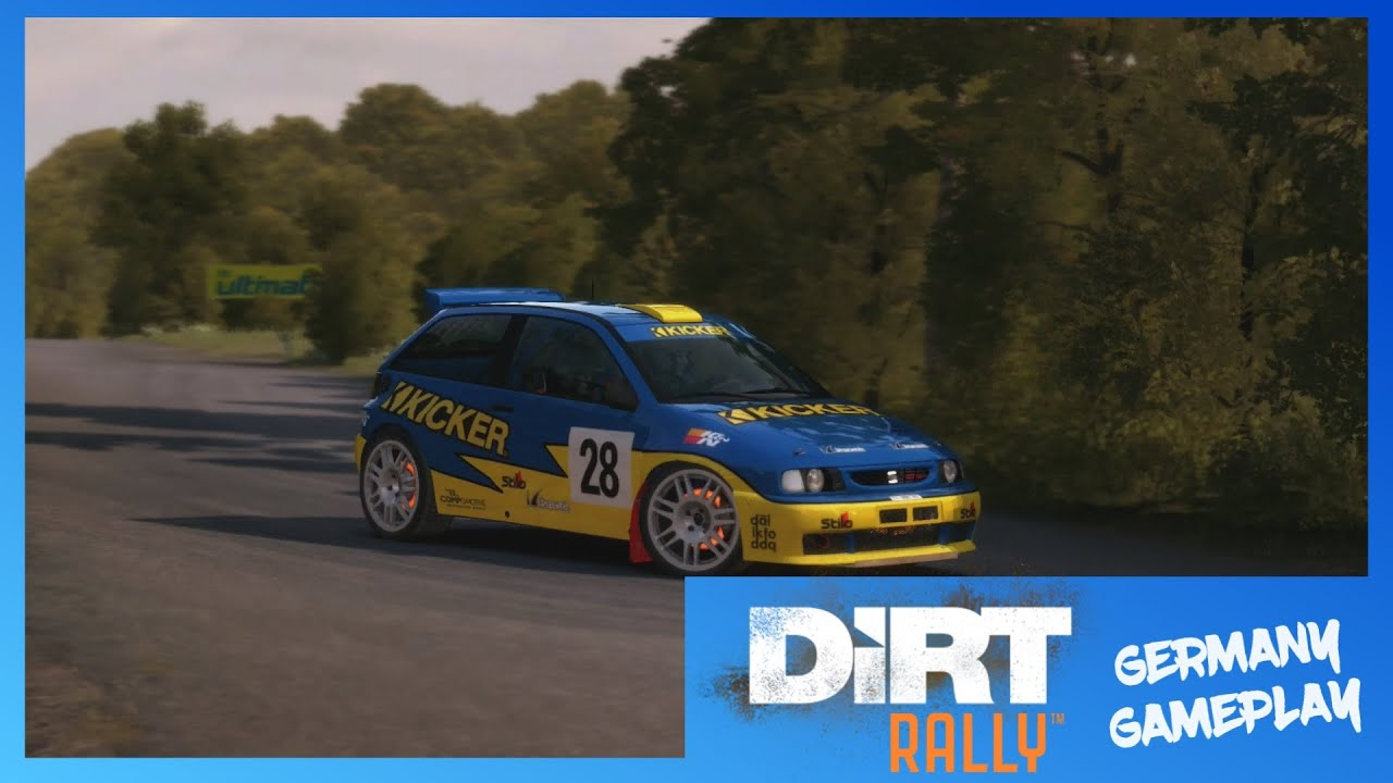 dirt rally xbox one cinematic gameplay seat ibiza kit car germany 1080p youtube. Black Bedroom Furniture Sets. Home Design Ideas