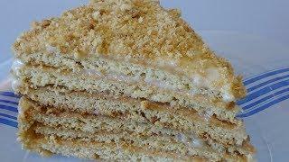 Медовый торт Наш семейный рецепт Медовик классический
