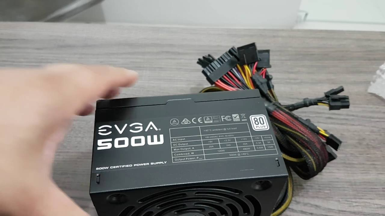maxresdefault unboxing fonte evga 500w para pc 80 plus bronze youtube  at creativeand.co
